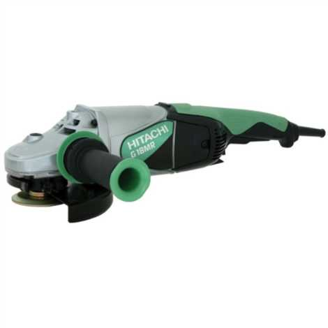 HITACHI G18MR LARGE ANGLE GRINDER 7 INCH, 2400W, 6000 RPM
