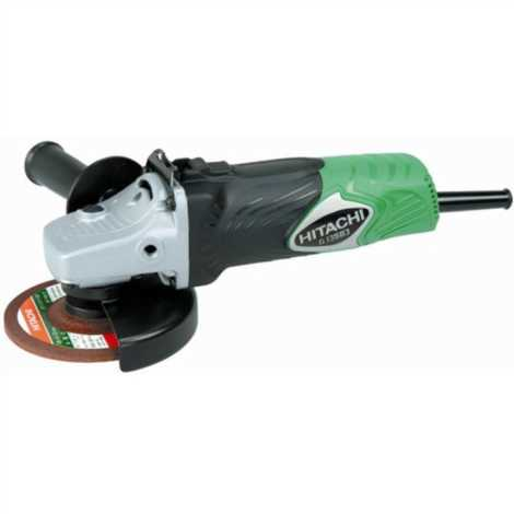 HITACHI G13SB3 MINI ANGLE GRINDER, 125MM, 1300W, 11000 RPM