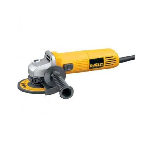 DEWALT DW824 125 MM WHEEL DIA 11000 RPM SMALL ANGLE GRINDER