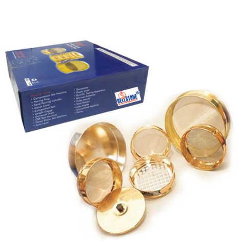 Bellstone Brass Sieves 200MM Dia Complete Set