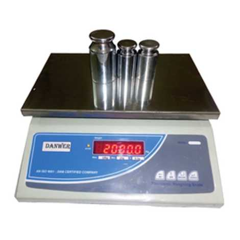 DENWER DIGITAL BALANCE TABLE TOP CAPACITY 30KG