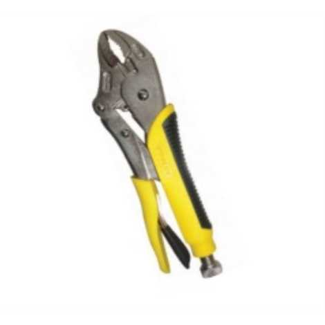 STANLEY PLIERS -LOCKING PLIERS WITH BI- MATERIAL SIZE : 254MM-10