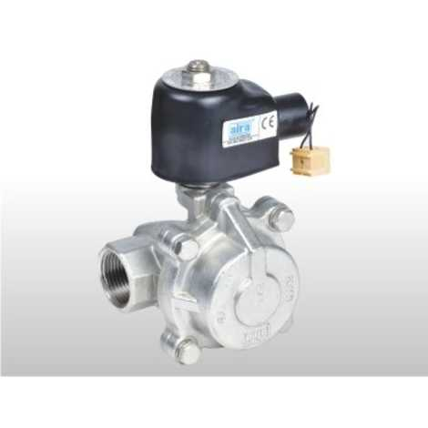 """2/2 WAY PILOT OPERATED """"PISTON TYPE SOLENOID VALVES"""" FOR STEAM & HIGH TEMPERATURE FLUIDS"""