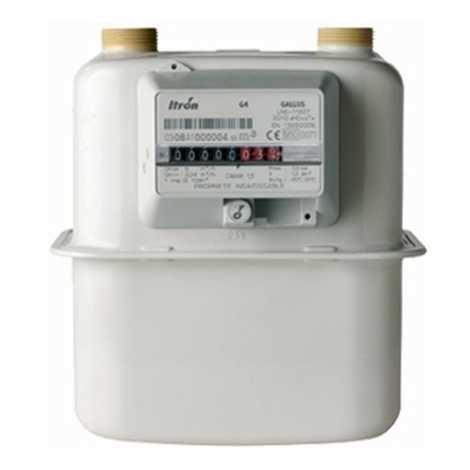 ITRON GAS METER MAKE ITRON MODEL G - 16 NC
