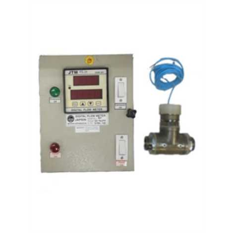 bellstone 100mm turbine flow meter with tatolizer