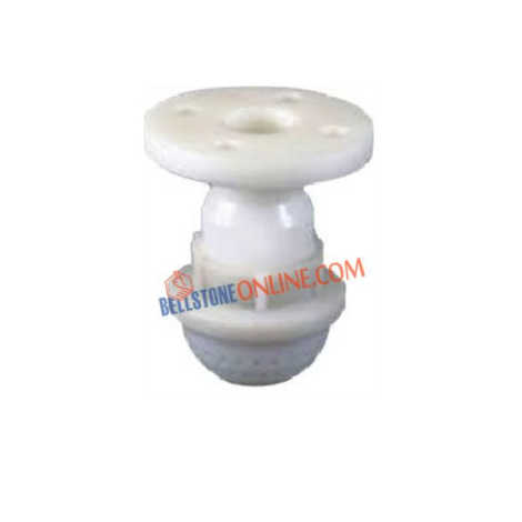 PP FOOT VALVE FLANGED END
