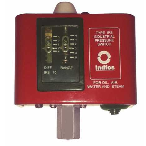 INDFOSS PRESSURE SWITCH IPS-70 (NEW MODEL)