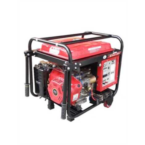 PETROL AND LPG GENERATORS MAX OUTPUT 5500