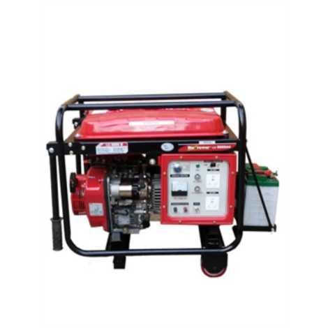 DIESEL PORTABLE GENSETS MAX OUTPUT 5000