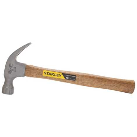 STANLEY STRIKING TOOLS - WOOD HANDLE NAIL HAMMER