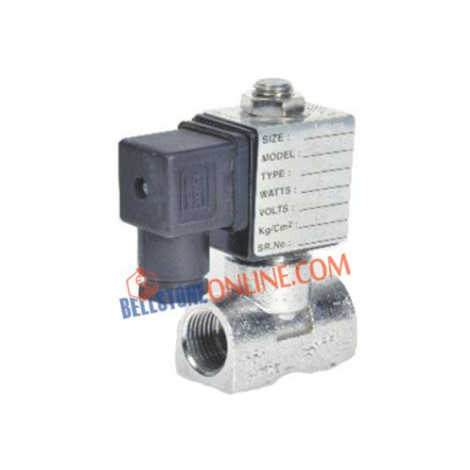 2/2 WAY SS 304 DIRECT ACTING SOLENOID VALVE