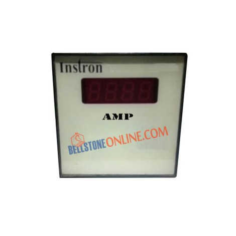 INSTRON DIGITAL AMP METER SIZE : 96X96mm