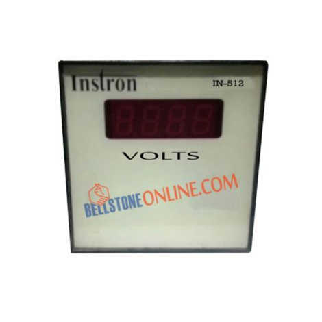 INSTRON DIGITAL VOLT METER SIZE 96X96mm