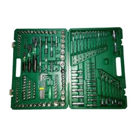 TSTOP 158 Pcs. Tool Box 09510