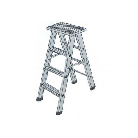 folding ladder 10 feet (aluminium)