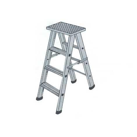 folding ladder 12 feet (aluminium)