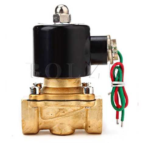 2/2 Way Brass Diaphragm Solenoid Valve