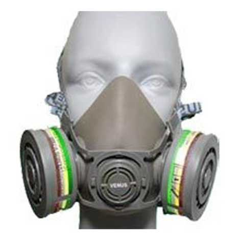 SAFETY MASK VENUS V-500 HALF MASK