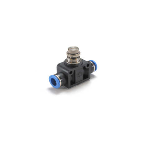 In Line Flow Control Connector