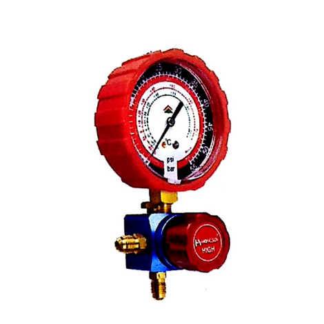 HS-468 AH/AL Single manifolds Pressure Gauge