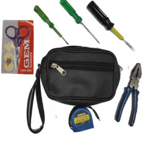 BELLSTONE 5 ITEM ELECTRICAL TOOLS KIT WITH BAIG
