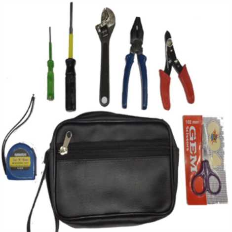 BELLSTONE 7 ITEM TOOL KIT PLUS BAG (MEDIUM)