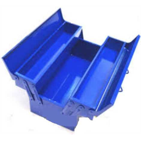 "JHALANI METAL TOOLS BOX (5 TIER) SIZES : 18' X 8"" X 8"""