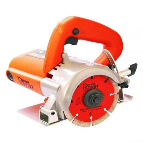 "PLANET POWER EC 4A 110MM CUTTER WITH 4"" SEGMENTED DIAMOND BLADE"