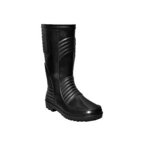 Hillson Welsafe Plain Toe Black Gumboots