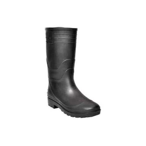 Hillson Century Plain Toe Black Gumboots