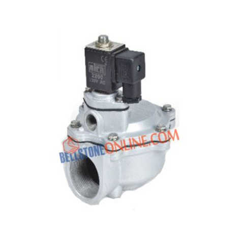 2/2 WAY DUST COLLECTOR SOLENOID VALVES (PULSE VALVE ANGLE TYPE SINGLE DIAPHRAGM)