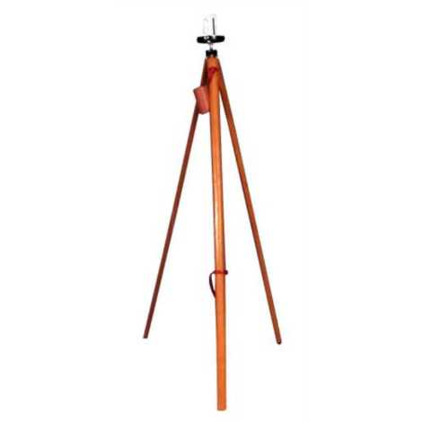 """BELLSTONE PRISMATIC COMPASS IN FIBER CASE WOODEN STAND SIZE : 4"""""""