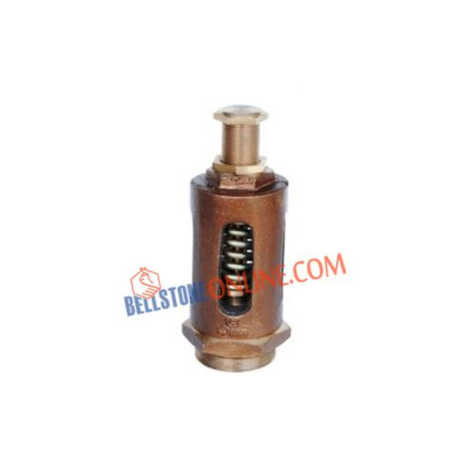 BRONZE SAFETY SPRING RELIEF VALVE (STRAIGHT TYPE)