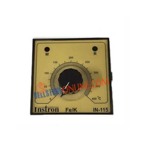 INSTRON BLIND TEMP CONTROLLER SIZE: 96 X 96 MM