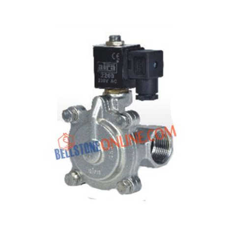 """2/2 WAY PILOT OPERATED """"DIAPHRAGM TYPE SOLENOID VALVES"""" NORMELY CLOSE SCREWED END"""