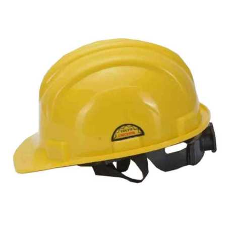 VOLVO SAFETY HELMET WITH RACHET YELLOW COLOR