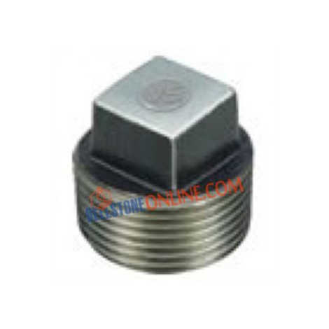 VS MILD STEEL PLUG SOLID FORGED BLACK