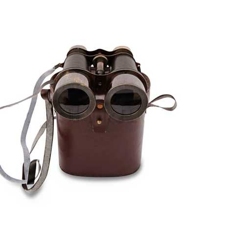 BELLSTONE BLACK ANTIQUE BINOCULAR