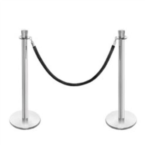 STANCHION POST CLASSIC WITH ROPE