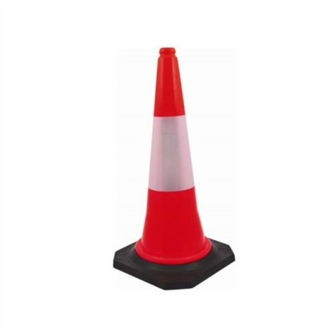 Road Star PVC Safety Cone (Traffic/Parking/Outdoor) (pack of 1)