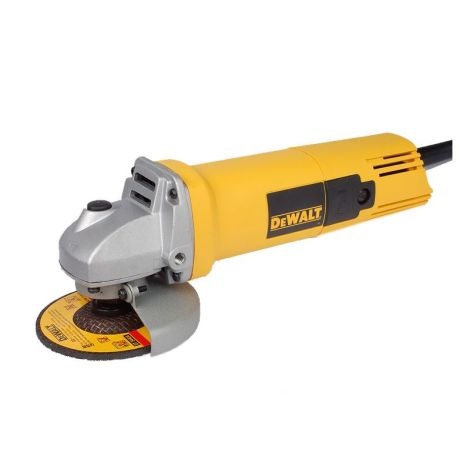 DEWALT DW801 100 MM WHEEL DIA 10000 RPM SMALL ANGLE GRINDER