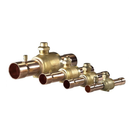 45 Bar Ball Valve MODEL GC without Charging Port
