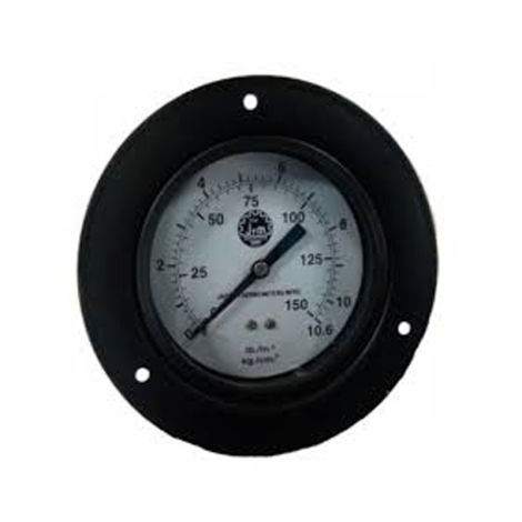 JTM MS BODY PRESSURE GAUGE 100MM (Back Mounting)