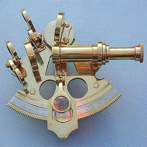 "Nautical Sextant Compass Size 4"""