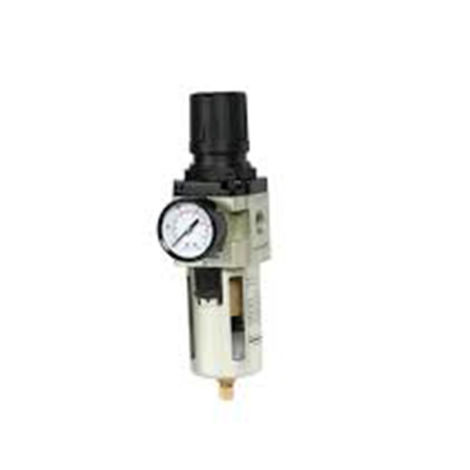Filter Regulator with Gauge Metal Guard Size 1/2 Inch