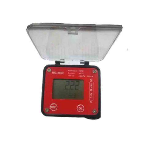 "digital oval gear 1/2"" flow meter (Flow Range 99999.9)"