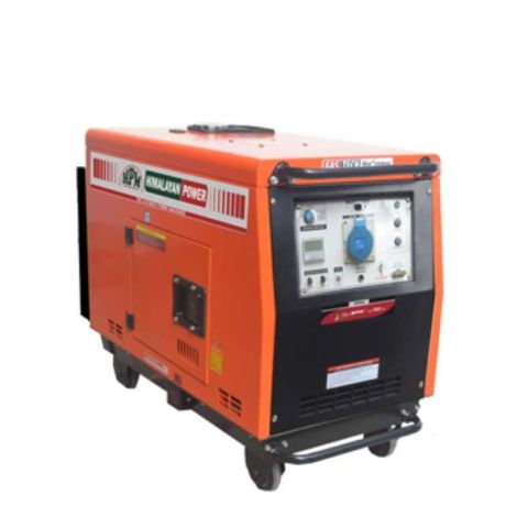 PORTABLE DIESEL SELF START MAX AC. OUTPUT VA 8500