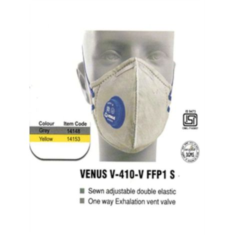 SAFETY MASK VENUS V-410-V FFP1 S (Pack of 5)