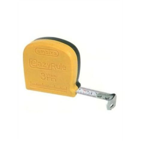 AMBIKA SIZE 13MM WITHOUT CLIP AND SLING STEEL MEASURING TAPE