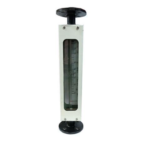 JTM glass tube rotameter mild steel (for water/solvent)